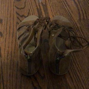 Never worn sandals